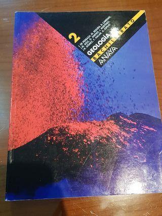 Geología 2° de Bachillerato. Anaya.