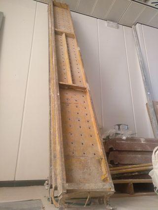 3 Planchas de andamio de 3x0'30 metros extensible