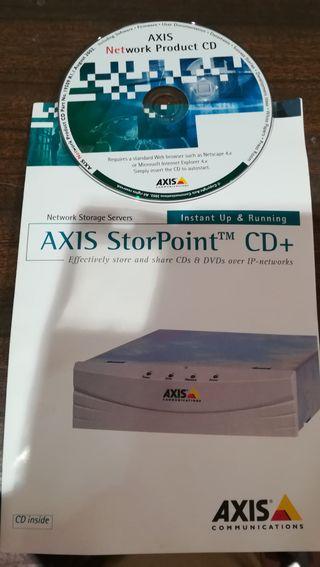 SERVIDOR AXIS STORPOINT CD+, ARMARIO TITANIUM DVD