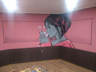pintor graffiti arte decoración muralista Ourense