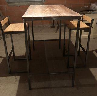 Mesa-barra de cocina