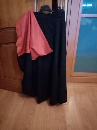 falda de amazona
