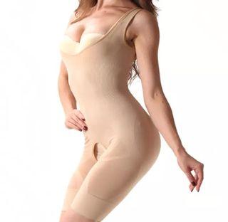 Faja reductora mujer talla s/m beige