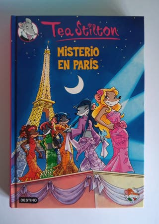 Libro de Geronimo Stilton (Misterio en paris)