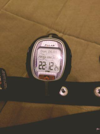 reloj POLAR de entrenamiento.