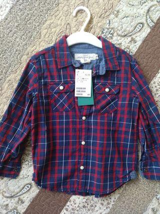 camisa niño 2-3 años NUEVA