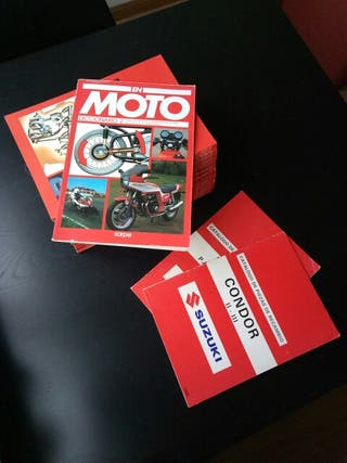 Colección completa antigua En Moto
