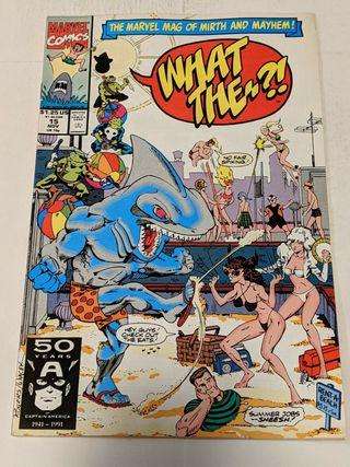 What The?¡ 15 November 1991 Marvel Comics