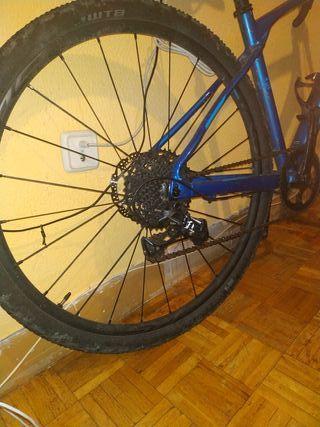 bicicleta gravel sílex 600 talla xs