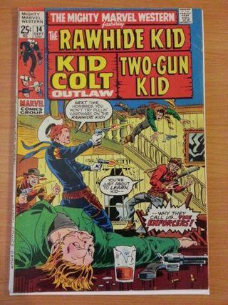 Mighty Marvel Western #14: The Rawhide Kid.