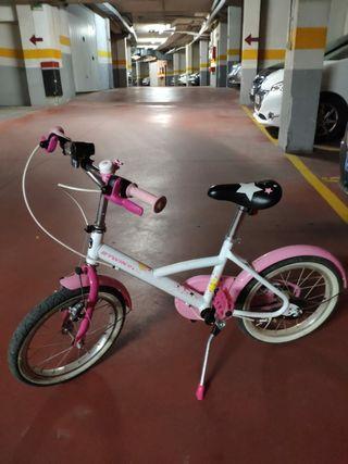 Bicleta niña