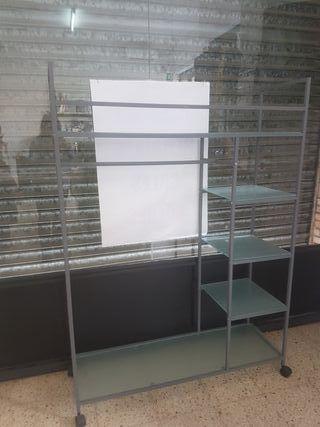 Mueble estanteria perchero tienda vestidor