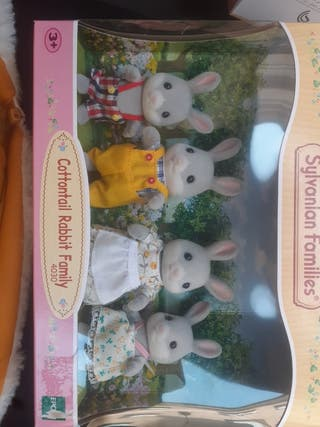 cottontail rabbit family 4030