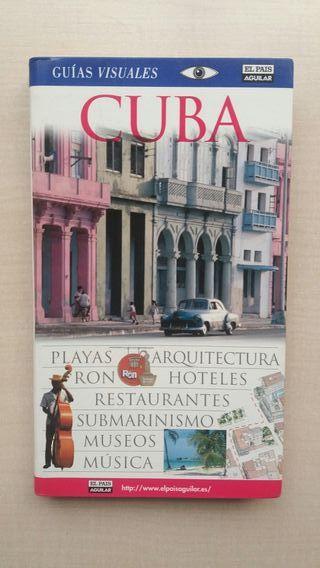 Libro Cuba. Guías Visuales El pais Aguilar.
