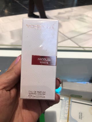 Mini perfumes Nicolas white yodeyma