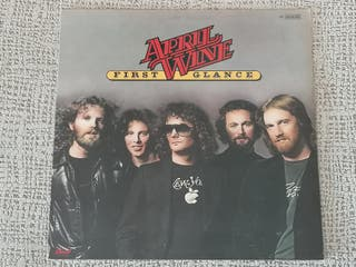 "lp vinilo APRIL WINE ""FIRST GLANCE"""