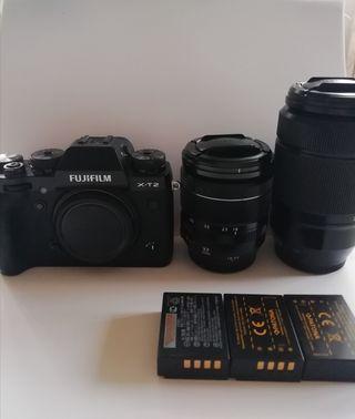 Equipo Fotografía Fujifilm XT2