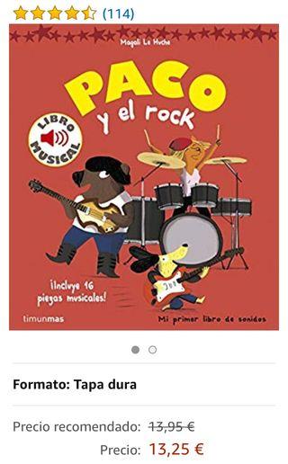 Paco y el rock - libro infantil musical