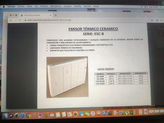 Radiador. Emisor térmico ESC-B900