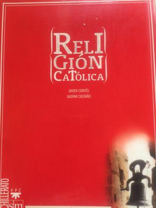 Libro Religión Católica SM. Bachillerato