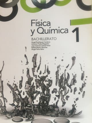 Libro Física y Química 1. Bachillerato