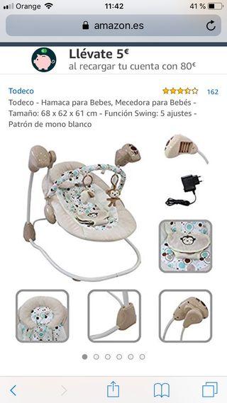 Hamaca para bebe electrico