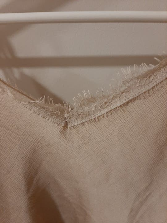 Camiseta lencera talla 38