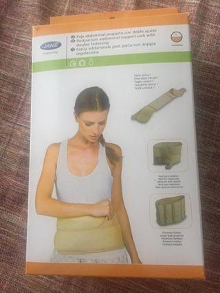 Faja abdominal post parto