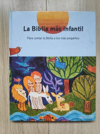 La Biblia más infantil. editorial Magisterio Casal