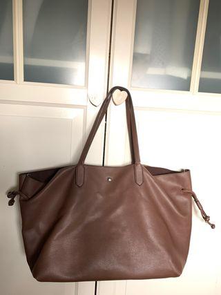 Bolso marrón chocolate