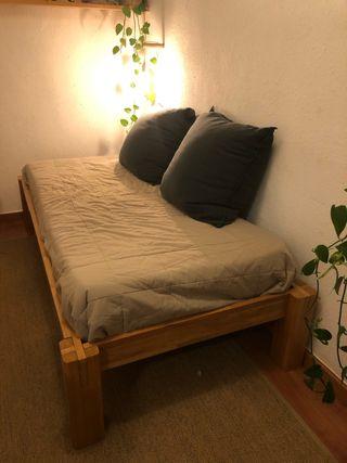 Futon cama individual japonesa tatami