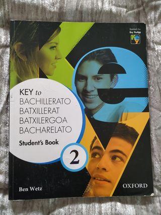 Libro inglés Key to Bachillerato