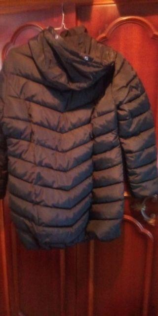 abrigo de pluma