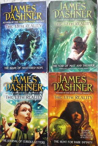 4 Books James Dashner