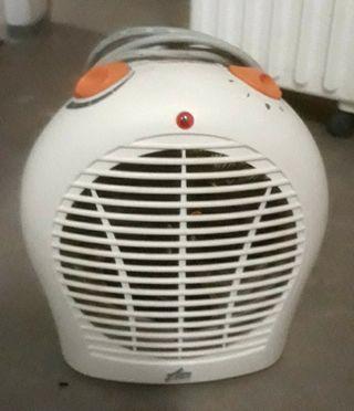 calefactor, ventilador