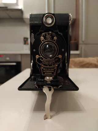 Kodak no.2 autographic brownie camera