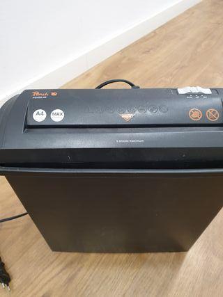 Triturador de documentos peach PS400-40