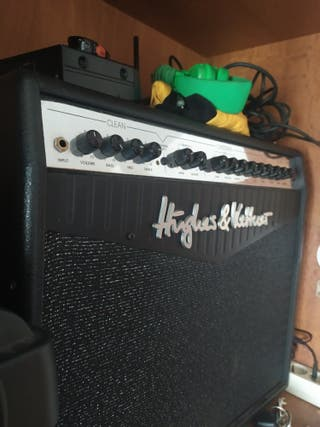 Amplificador de guitarra hughes & kettner 100 w