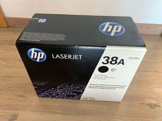 Cartucho de tinta original HP 38A sin abrir