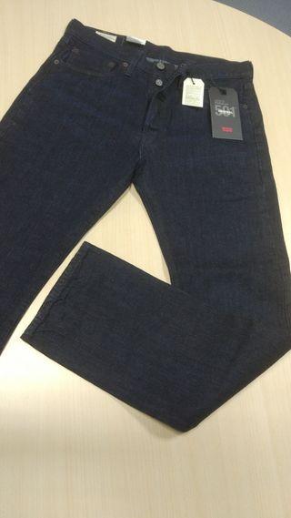 pantalón vaquero levi's 501 nuevos, para hombre