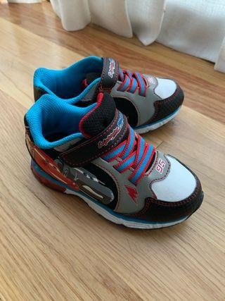 Zapatillas de deporte de Rayo McQueen con luces