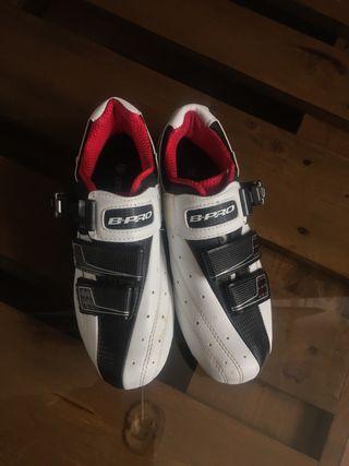 Zapatillas B-PRO ciclismo y spinning - número 39