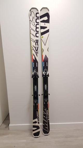 Esquís SALOMON 24 HOURS MAX + Fijaciones Z12