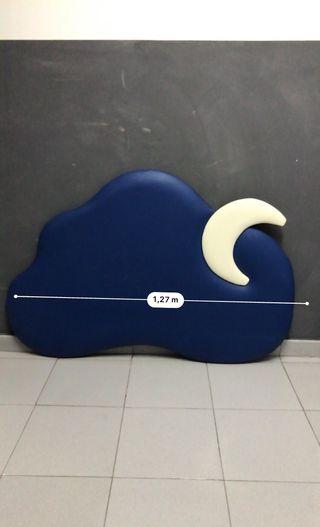 Cabecero infantil nube/ luna