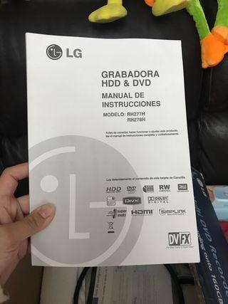 Grabadora HDD & DVD