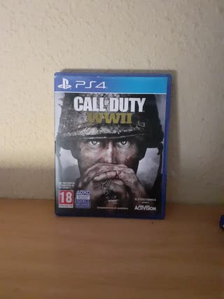 call of dutty WWII para ps4