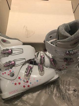 Botas de esquiar Roxy White, Muy cuidadas.