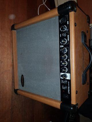 amplificador para guitarra