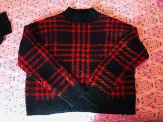 Jersey negro y rojo