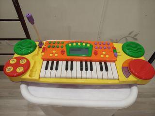 órgano con teclado